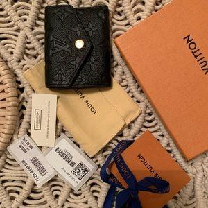 Louis Vuitton Zoe Wallet, Black Empriente Leather